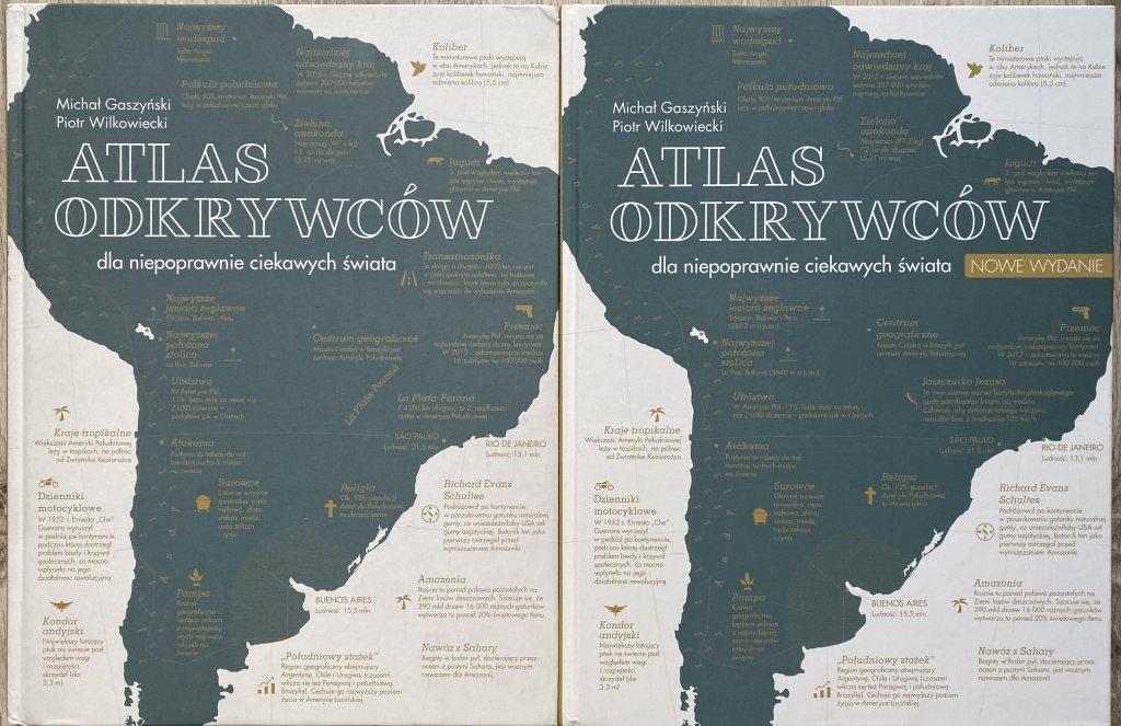 okładki książek Atlas Odkrywców wyd. Insignis
